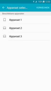 Samsung Galaxy S6 edge+ (SM-G928F) - Contacten en data - Contacten overzetten via Bluetooth - Stap 9