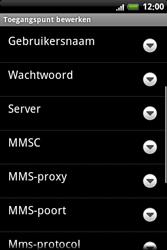 HTC A6363 Legend - MMS - handmatig instellen - Stap 9