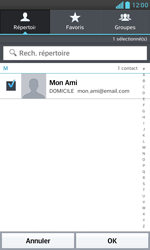 LG E975 Optimus G - E-mail - envoyer un e-mail - Étape 6