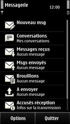 Nokia 500 - MMS - envoi d'images - Étape 3