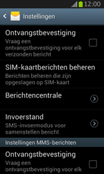 Samsung S7710 Galaxy Xcover 2 - SMS - Handmatig instellen - Stap 8