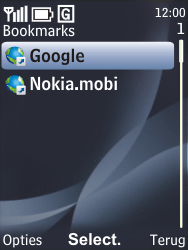 Nokia 6700 classic - Internet - hoe te internetten - Stap 8