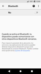 Sony Xperia XZ1 - Bluetooth - Conectar dispositivos a través de Bluetooth - Paso 6