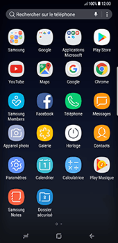 Samsung Galaxy S8 Plus - Applications - Télécharger des applications - Étape 3