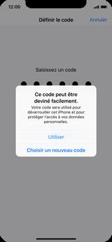 Apple iPhone X - Sécuriser votre mobile - Activer le code de verrouillage - Étape 6