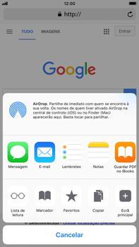 Apple iPhone 8 Plus - Dados - Como utilizar o web browser -  6