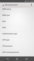 Sony E2003 Xperia E4 G - Mms - Manual configuration - Step 11