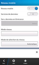 BlackBerry Z10 - Internet - activer ou désactiver - Étape 7