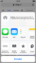 Apple iPhone 5s - iOS 12 - Internet - navigation sur Internet - Étape 5