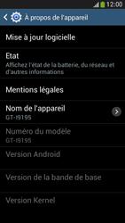 Samsung I9195 Galaxy S IV Mini LTE - Réseau - Installation de mises à jour - Étape 7