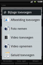 Sony Ericsson Xperia Mini Pro - E-mail - hoe te versturen - Stap 8