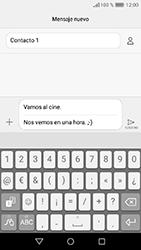 Huawei Y6 (2017) - Mensajería - Escribir y enviar un mensaje multimedia - Paso 12