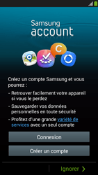 Samsung Galaxy S4 Mini - Premiers pas - Créer un compte - Étape 9