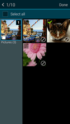 Samsung G901F Galaxy S5 4G+ - Mms - Sending a picture message - Step 21