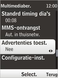 Nokia 6303i classic - MMS - probleem met ontvangen - Stap 11