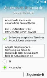 Samsung Galaxy Core Prime - Primeros pasos - Activar el equipo - Paso 8