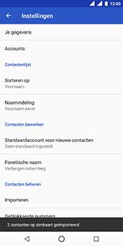 Nokia 5-1-dual-sim-ta-1075 - Contacten en data - Contacten kopiëren van SIM naar toestel - Stap 10