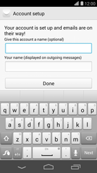 Huawei Ascend P7 - Email - Manual configuration - Step 19