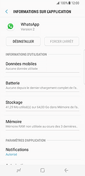 Samsung Galaxy S8 - Applications - Supprimer une application - Étape 6