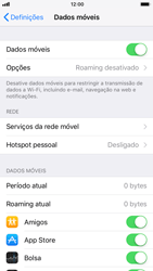 Apple iPhone 6 - iOS 11 - Internet no telemóvel - Como ativar 4G -  4