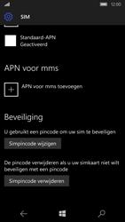 Microsoft Lumia 650 (Type RM-1152) - Beveiliging en ouderlijk toezicht - Hoe wijzig ik mijn SIM PIN-code - Stap 7