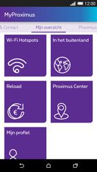 HTC One M8 - Applicaties - MyProximus - Stap 21