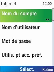 Nokia X2-00 - Internet - Configuration manuelle - Étape 8