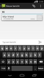 Motorola Moto G (1st Gen) (Kitkat) - MMS - hoe te versturen - Stap 5