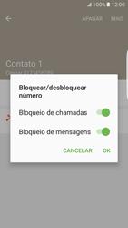 Samsung Galaxy S7 Edge - Chamadas - Como bloquear chamadas de um número específico - Etapa 10