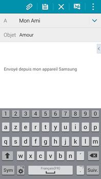Samsung N910F Galaxy Note 4 - E-mail - envoyer un e-mail - Étape 8