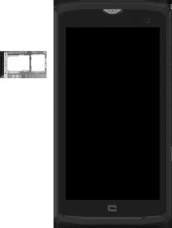 Crosscall Core X3 - Premiers pas - Insérer la carte SIM - Étape 3