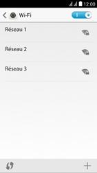 Huawei Ascend Y625 - Wi-Fi - Se connecter à un réseau Wi-Fi - Étape 5