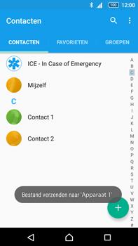 Sony E6853 Xperia Z5 Premium - Contactgegevens overzetten - delen via Bluetooth - Stap 11