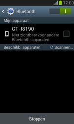 Samsung I8190 Galaxy S III Mini - Bluetooth - Aanzetten - Stap 5