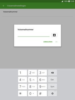 Samsung Galaxy Tab A 9.7 - Voicemail - Handmatig instellen - Stap 7