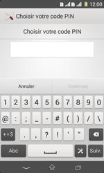 Sony Xpéria E1 Dual - Sécuriser votre mobile - Activer le code de verrouillage - Étape 7