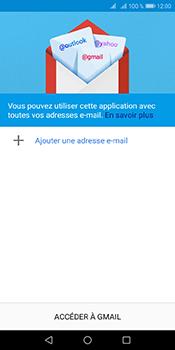 Huawei Y6 (2018) - E-mails - Ajouter ou modifier votre compte Gmail - Étape 5