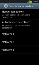 Samsung S7390 Galaxy Trend Lite - Netwerk - Gebruik in het buitenland - Stap 8