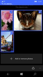Microsoft Lumia 950 - Photos, vidéos, musique - Envoyer une photo via Bluetooth - Étape 11