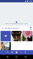 Motorola Moto G5 - MMS - Sending a picture message - Step 12