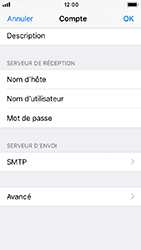 Apple iPhone 5s - iOS 12 - E-mail - Configuration manuelle - Étape 27