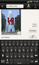 HTC C525u One SV - MMS - Envoi d