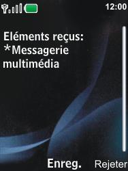 Nokia 6600i slide - MMS - Configuration automatique - Étape 4
