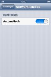 Apple iPhone 4 S met iOS 6 - Netwerk - gebruik in het buitenland - Stap 6