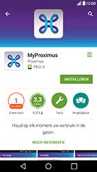LG X Power - Applicaties - MyProximus - Stap 7