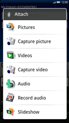 Sony Ericsson Xperia X10 - Mms - Sending a picture message - Step 10