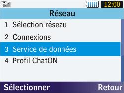Samsung S3570 Chat 357 - Internet - activer ou désactiver - Étape 5