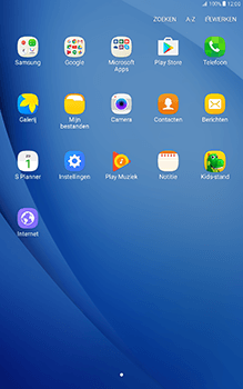 Samsung Galaxy Tab A 10.1 (SM-T585) - Applicaties - Account aanmaken - Stap 3
