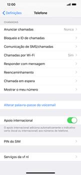 Apple iPhone XR - Segurança - Como ativar o código PIN do cartão de telemóvel -  4