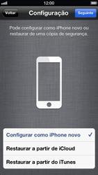 Apple iPhone iOS 6 - Primeiros passos - Como ativar seu aparelho - Etapa 12